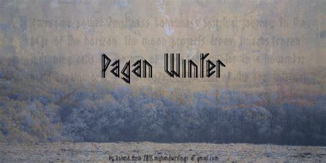 dafont winter pagan winter font dafont com