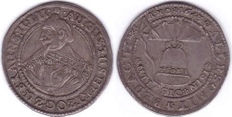 antike möbel braunschweig 1 4 glockentaler 1643 deutschland braunschweig