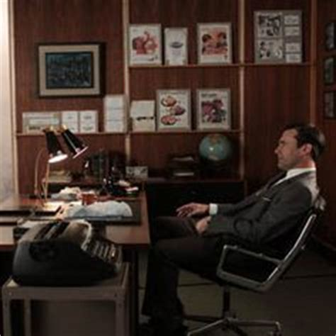 don draper office don draper men office and desks on pinterest