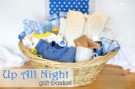 Baby Shower Gift Ideas by Up All Survival Kit Doodles