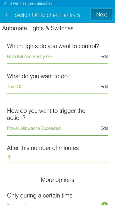 Turn Off Lights After 10 Minutes Smartapps Smartthings