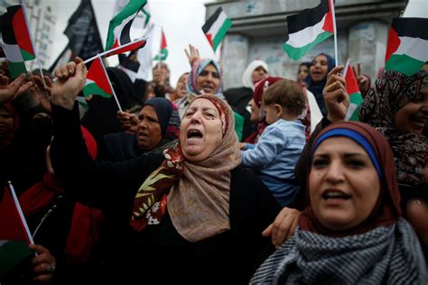 Palestine Gaza rallying cry of jerusalem may lost in arab world the new york times