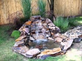 Small Garden Waterfall Ideas Small Home Garden Ponds And Waterfalls Ideas