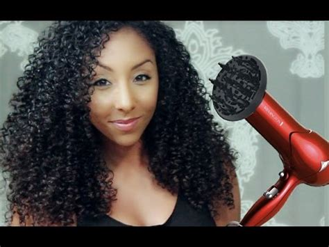 Hair Dryer Curly how to get big curly hair with a diffuser