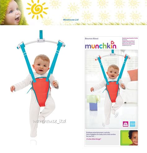 baby door swing munchkin baby door bouncer toddler newborn doorway swing