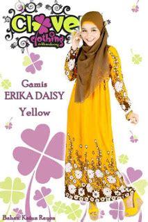 Erika Dress Salur muslimina fashion gamis clover clothing