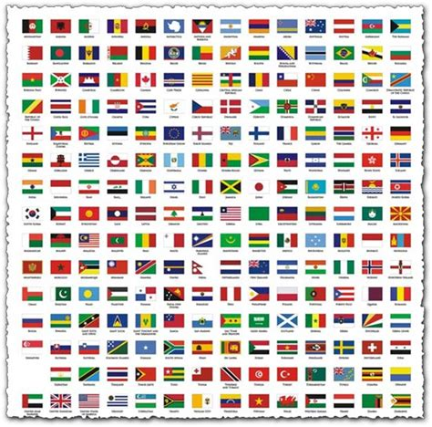 flags of the world vector eps national flags in corel draw format