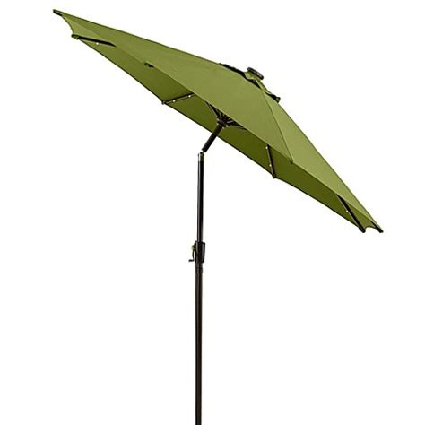 Solar Patio Umbrellas 9 Foot Solar Aluminum Patio Umbrella Bedbathandbeyond