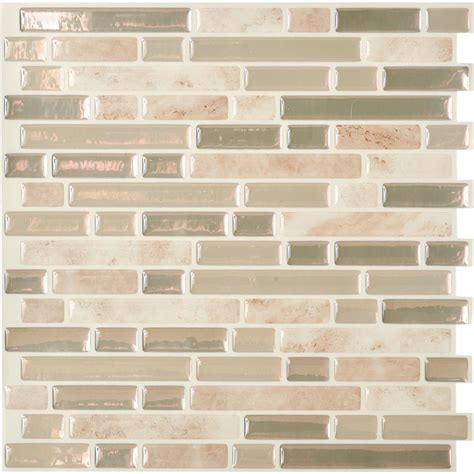 peel and stick wallpaper tiles peel and stick metal wall tile walmart com