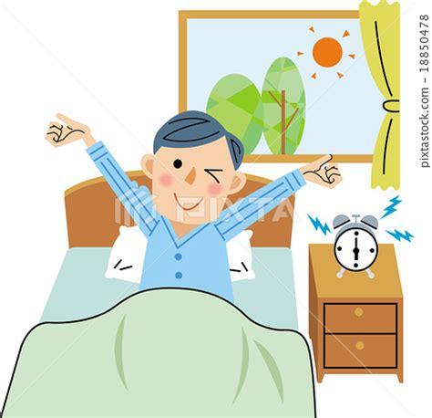 get up getting up stock illustration 18850478 pixta