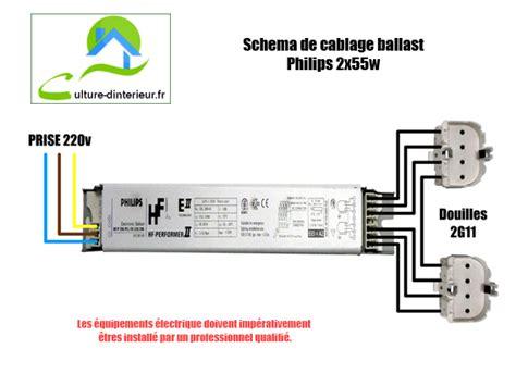 Ventilateur Brumisateur 258 by Sch 233 Ma De Cablage Ballast Philips 2x55w Growshop Materiel
