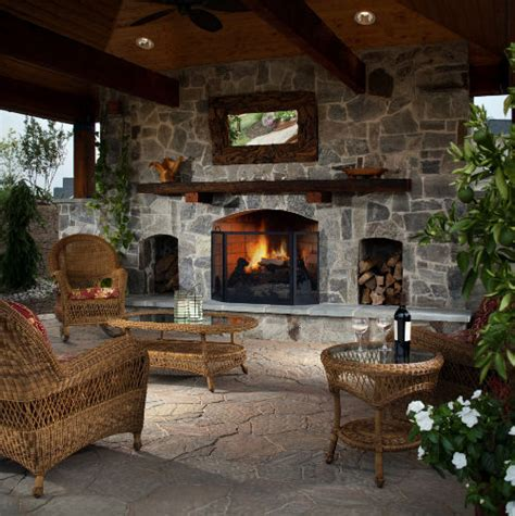 outdoor living areas with fireplaces winter outdoor entertaining tips keeping your guests warm install it direct