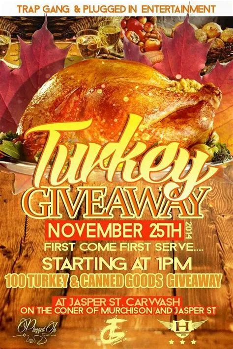 Free Turkey Giveaway 2014 - free turkey giveaway at murchison rd and jasper st on nov 25th faytoday