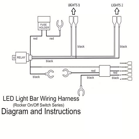 light bar wiring harness relay wiring diagram