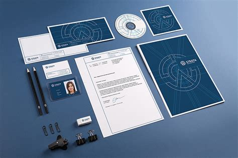 mockup graphic design corporate identity psd mockup graphicburger