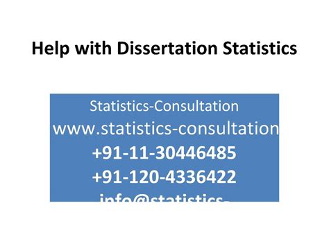 statistics for dissertation calam 233 o help with dissertation statistics