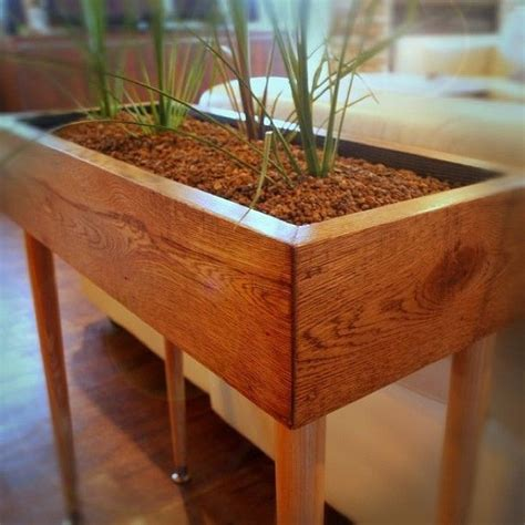 Planter Box Table by Modern Style Planter Box Table Custom Designed Handmade Furniture With Vintage Reclaimed Wood