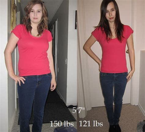 7 Best Weight Loss Posts by 5 7 150 Lbs 121 Lbs Before And After