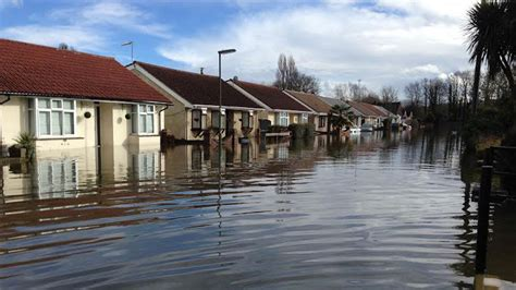 abandoned in surrey how one flooded street is coping