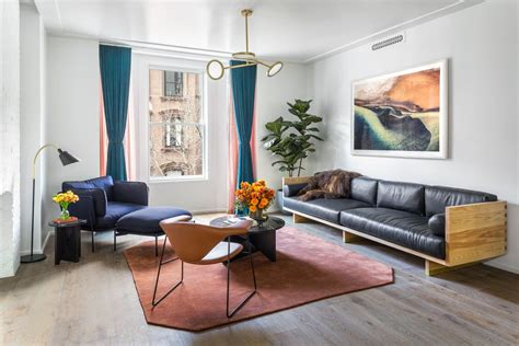apartment gets chic interior design by local