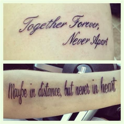 tattoos for couples to get together quotes for infinity with