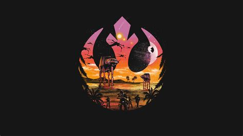 Jacob Palmborgs Minimalist Mobile The Iphone Rebellion by Rogue One A Wars Story Hd Fond D 233 Cran And