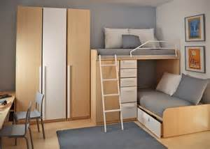 bed options for small spaces double loft beds and workspace in teen small bedroom