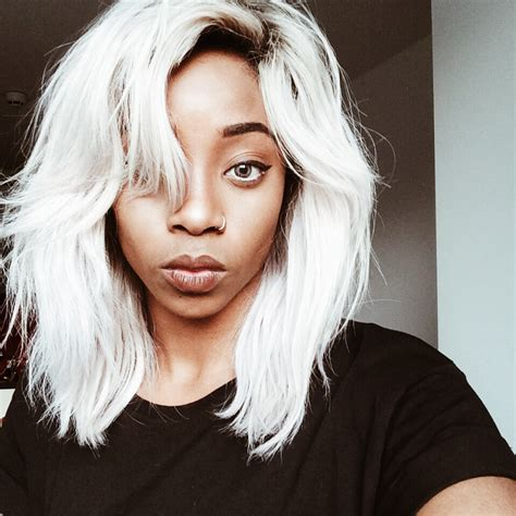 young black women with gray hair styles best trendy hair looks ever silver hair gray hair and