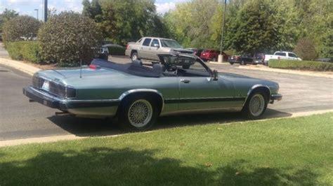 1992 jaguar xjs v12 convertible low miles classic