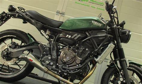 Yamaha Motorrad Ps by Umgebautes Motorrad Yamaha Xsr700 Von Gsn Motorraeder