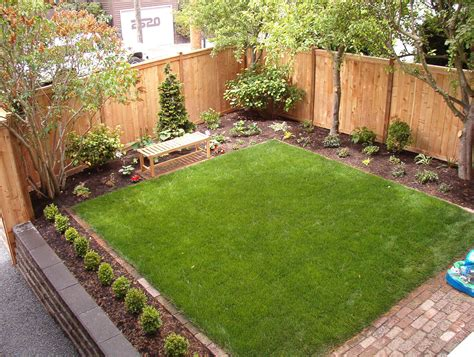landscaping backyard ideas sod lawn for children to play on landscape ideas