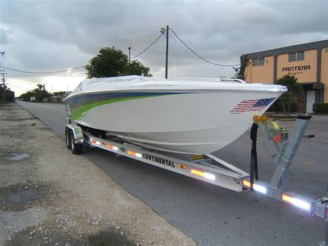 pantera 28 boat new pantera 28 powered by a single cobra 750 hp pics