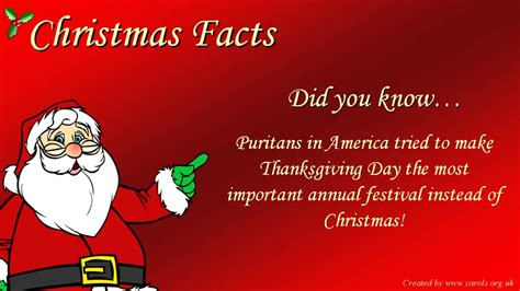 fun christmas facts youtube