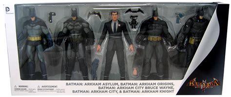 arkham figure 5 pack arkham batman 5 pack batman arkham series figure