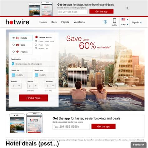 airline tickets hotel reservations car rentals discount travel deals last minute travel