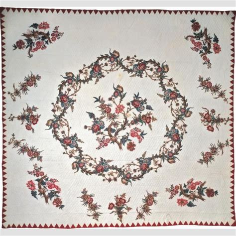 Sawtooth Quilt Border by Cut Out Chintz Quilt With Sawtooth Border Artist