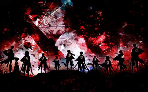Attack On Titan Shingeki No Kyojin Corps Survey Jaket Hoodie Anime shingeki no kyojin survey corps wallpaper and background image 1680x1050 id 607882