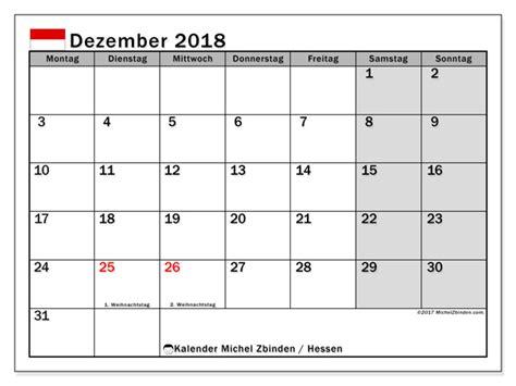 Kalender Dezember 2018 Kalender Zum Ausdrucken Dezember 2018 Feiertage In