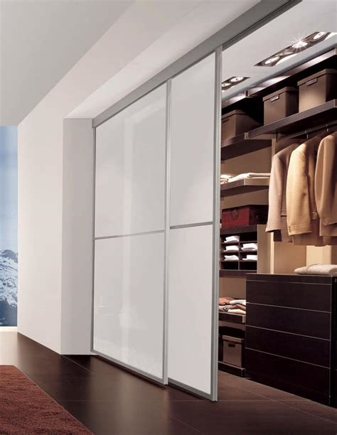 ante per armadio porte scorrevoli con telaio in alluminio per cabina