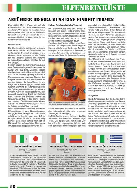 das büro magazin firmenliga tipp wm magazin 2014 der fussball almanach