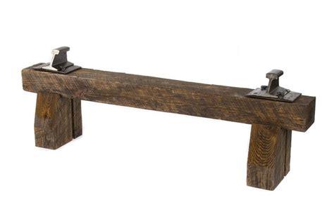railroad tie bench railroad tie bench inner design pinterest