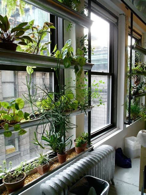 Indoor Window Planter Boxes - 10 impressive rain gutter gardens that will make you say wow