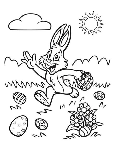 easter bunny printable coloring pages az coloring pages