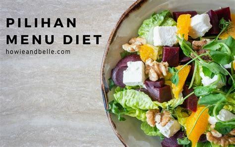 contekan menu diet murah  seminggu howieandbelle