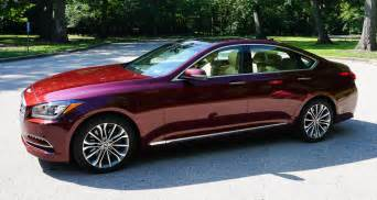 review 2015 hyundai genesis 3 8 awd 95 octane
