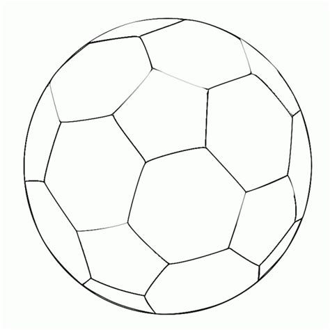 soccer ball colouring template clipart best