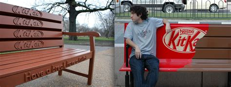 kitkat bench the funnest kitkat ads from around the world