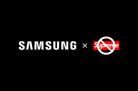 samsung x quot supreme quot collaboration cancelled hypebeast