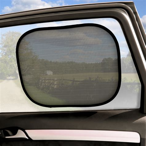 auto blinds and curtains igadgitz 2 pack fold up universal car window shades sun uv