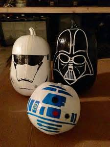 star wars halloween decorations 42 geek and nerdy pumpkin ideas for halloween digsdigs